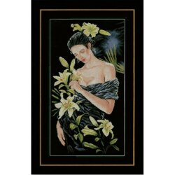 Lady with lilies Lanarte PN-0155748